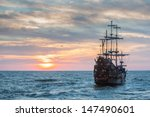Old Ship Sunset