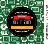 poster back to school... | Shutterstock .eps vector #147491705