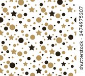 festive background with gold... | Shutterstock .eps vector #1474975307