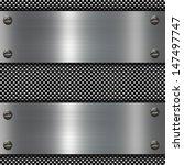 metal plate | Shutterstock . vector #147497747