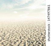 beach background in vintage... | Shutterstock . vector #147497861