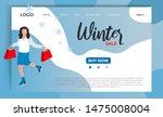 winter sale website landing...