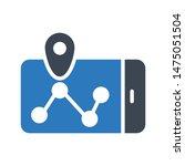 location glyph colour vector...