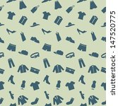 seamless pattern with clothes ... | Shutterstock .eps vector #147520775