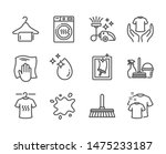 set of cleaning icons  such as... | Shutterstock .eps vector #1475233187