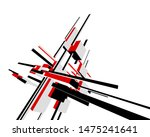 abstract architecture design ... | Shutterstock .eps vector #1475241641