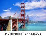 The Golden Gate Bridge In The...