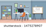 modern draftsman studio.... | Shutterstock .eps vector #1475278907
