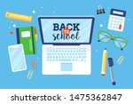 back to school concept with... | Shutterstock .eps vector #1475362847