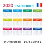 vector template of color 2020... | Shutterstock .eps vector #1475365451