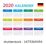 vector template of color 2020... | Shutterstock .eps vector #1475365454