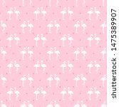 seamless dotted wallpaper with... | Shutterstock .eps vector #1475389907