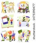 creative people vector man... | Shutterstock .eps vector #1475390477