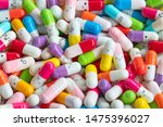 collection of the colorful... | Shutterstock . vector #1475396027