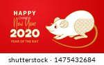 vector banner with a... | Shutterstock .eps vector #1475432684