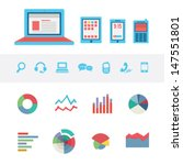 media background   icons | Shutterstock .eps vector #147551801