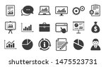 set of statistics  accounting... | Shutterstock .eps vector #1475523731