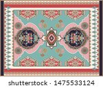 colorful ornamental floral...   Shutterstock .eps vector #1475533124