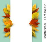 autumn background with  falling ...   Shutterstock .eps vector #1475558414