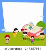 boys and girls   Shutterstock .eps vector #147557954