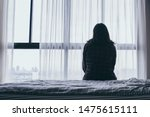 Panic Attacks Alone Young Girl...