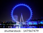 London Eye At The Night