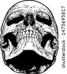 A Skull Graphic. Original...