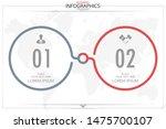 infographic business horizontal ... | Shutterstock .eps vector #1475700107