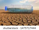 Clean Water In Plastic Bottle...