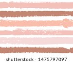 horizontal ink lines paint... | Shutterstock .eps vector #1475797097