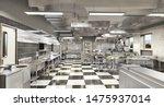restaurant equipment. modern... | Shutterstock . vector #1475937014