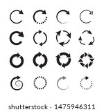 set of circle arrows. circled... | Shutterstock .eps vector #1475946311