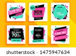 set of sale banner template... | Shutterstock .eps vector #1475947634