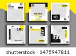 set of sale banner template... | Shutterstock .eps vector #1475947811