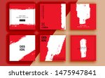 set of sale banner template... | Shutterstock .eps vector #1475947841
