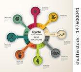 abstract infographics. vector... | Shutterstock .eps vector #147600041