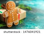 Gingerbread. Gifts And Holiday...