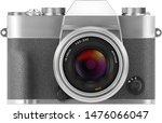 ultra realistic 3d slr retro...   Shutterstock .eps vector #1476066047
