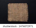 Old Burlap Fabric Napkin...