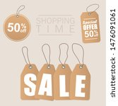sale inscription design... | Shutterstock . vector #1476091061