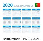 vector template of color 2020... | Shutterstock .eps vector #1476122021