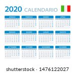 vector template of color 2020... | Shutterstock .eps vector #1476122027