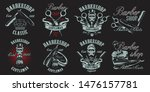 a large set of illustrations in ... | Shutterstock .eps vector #1476157781