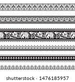 seamless black and white... | Shutterstock .eps vector #1476185957