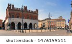 piacenza city in italy with cavalli square
