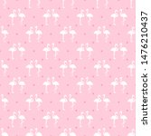 seamless dotted wallpaper with... | Shutterstock . vector #1476210437