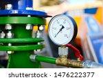 Round Mechanical Pressure...