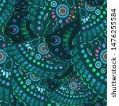 vector abstract green butterfly ... | Shutterstock .eps vector #1476255584