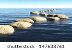 A Path Made Of Stones That Sta...