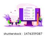 employment service  recruitment ... | Shutterstock .eps vector #1476359387